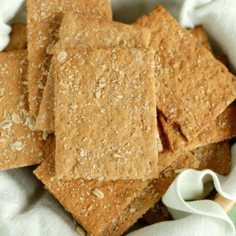 oatmeal knackebrod - crispbread