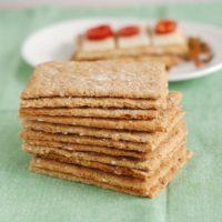 Oatmeal Crispbreads (Oatmeal Knäckebröd) #BreadBakers