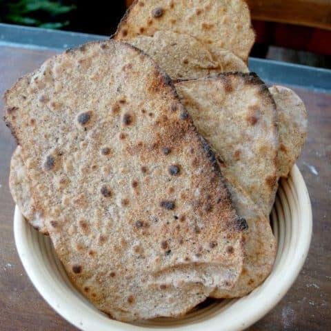 Sourdough Rye Crispbread (Sourdough Rye Knackebrod)