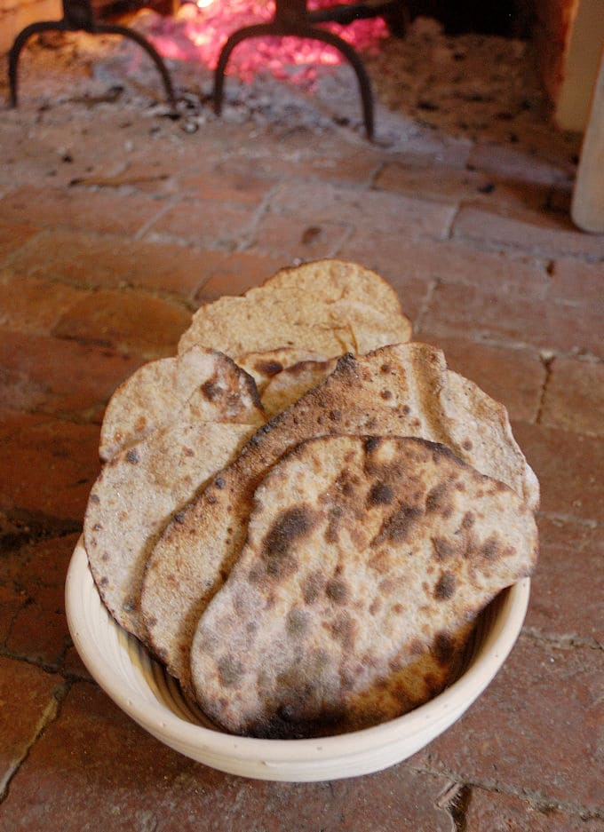 sourdough rye crispbread