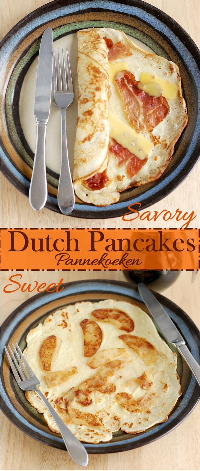 Make them savory or make them sweet-Dutch Pancakes are a delicious breakfast treat! Easy to make and very versatile.