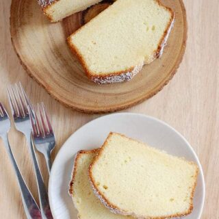Absolutely Perfect Sour Cream Pound Cake