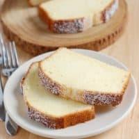Pound Cake Perfection using Baker's Formula