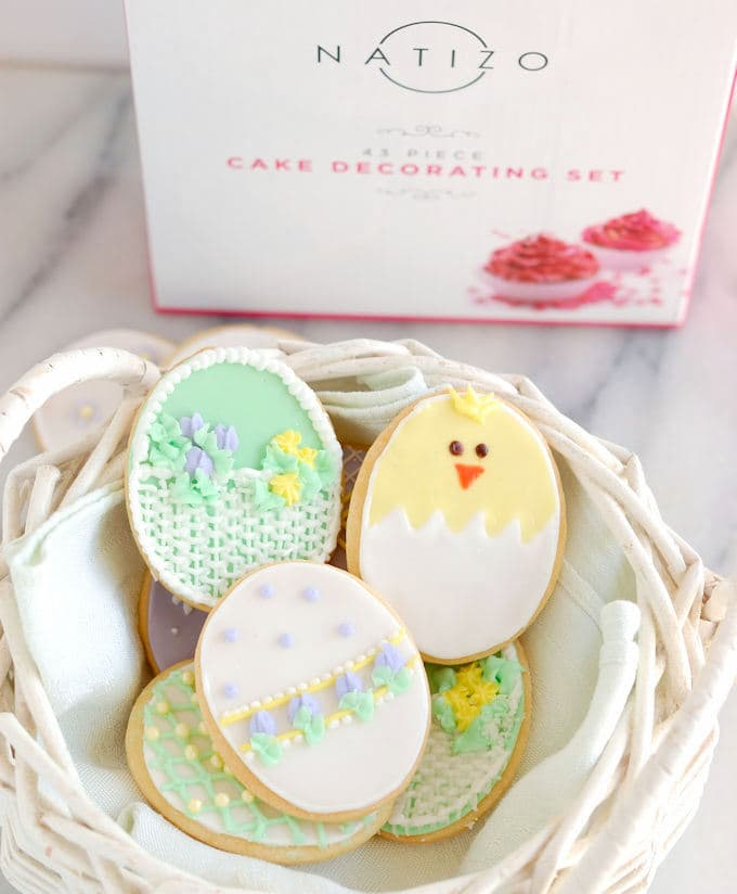 decorated sugar cookies for easter