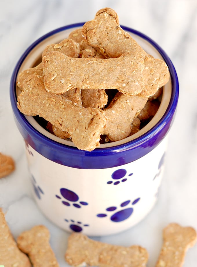 Healthy Homemade Dog Biscuits