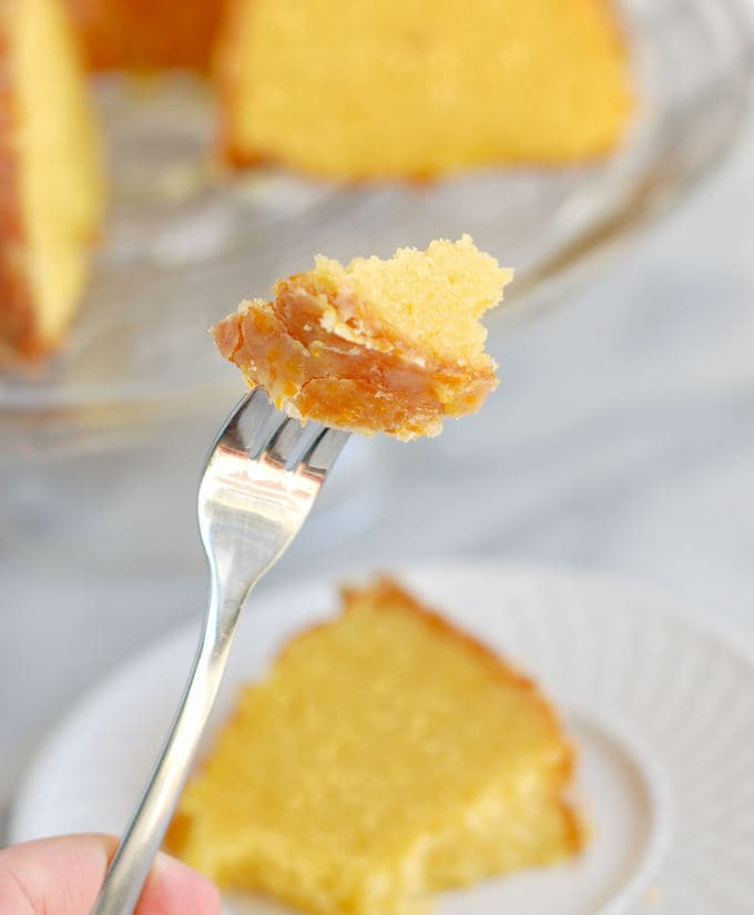 Golden beet orange cake