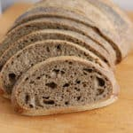 slices of guinness buckwheat bread