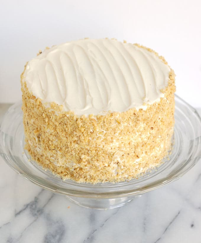 Better Carrot Cake with better cream cheese frosting