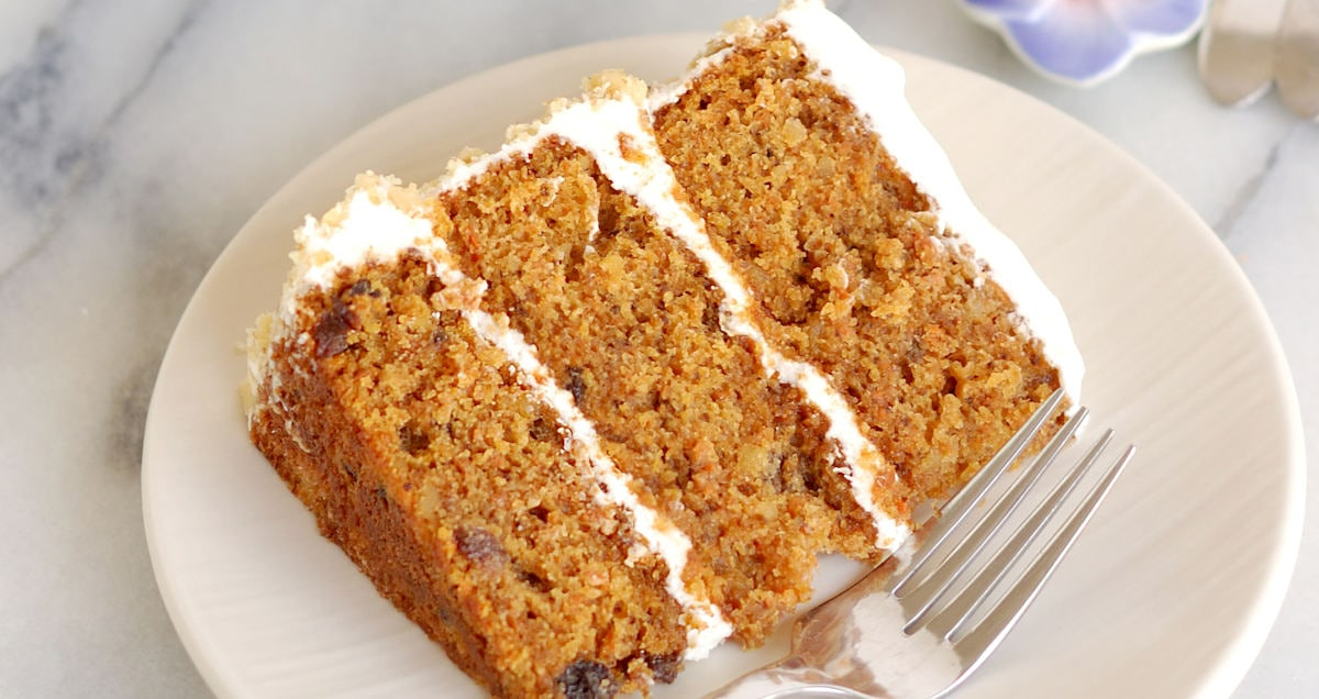 Think there's nothing to learn about carrot cake? This is A Better Carrot Cake recipe not because there are special ingredients, but how the ingredients are put together.