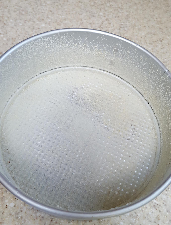 a butter spring form pan