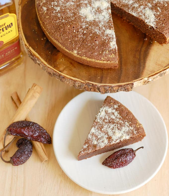 flourless mexican hot chocolate cake 8a