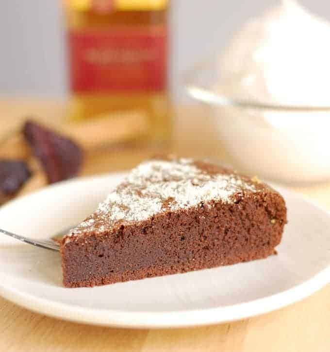 flourless mexican hot chocolate cake 9a
