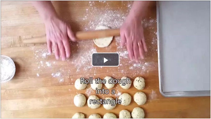 how to make herbed goat cheese stuffed breadsticks