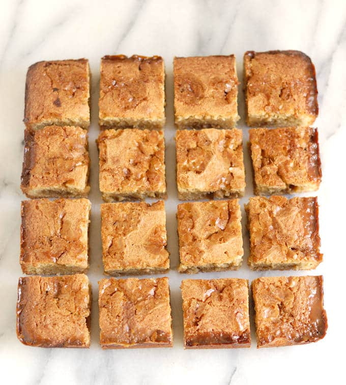 butterscotch ripple blondies