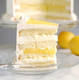 Luscious Lemon Mousse Cake – Layer cake perfection