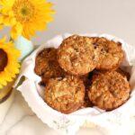 sunflower crumb muffins