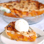 apricot raspberry pie pinterest image
