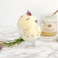 Lavender Honey Ice Cream