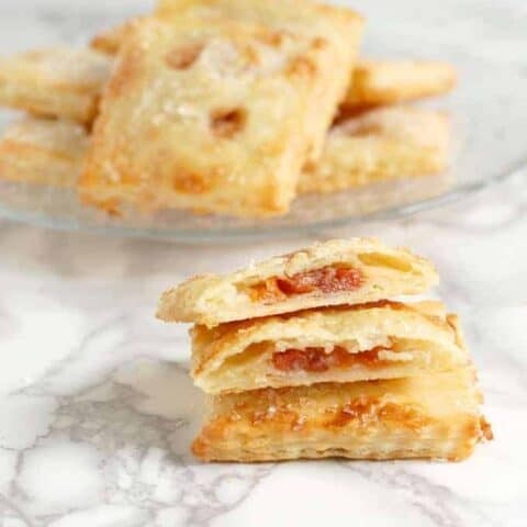 Sour Cherry Hand Pies with Almond Frangipane