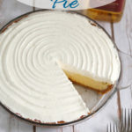 a pinterest image for margarita pie with text overlay