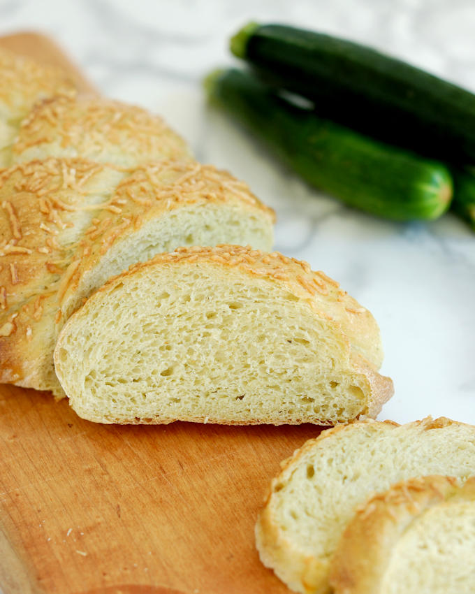 zucchini yeast bread
