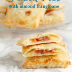 a pinterest image of cherry hand pies