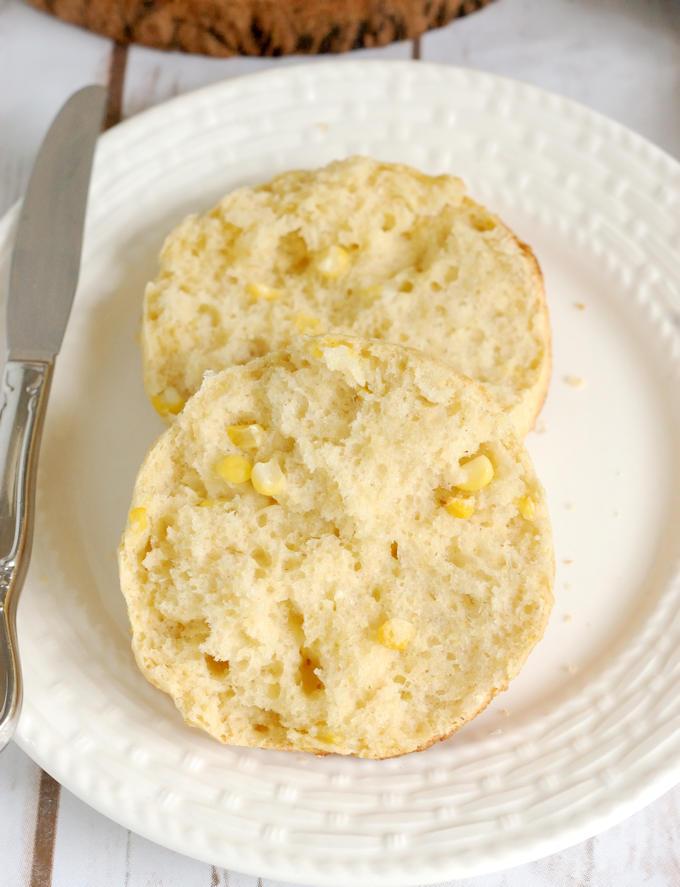 fresh corn scones