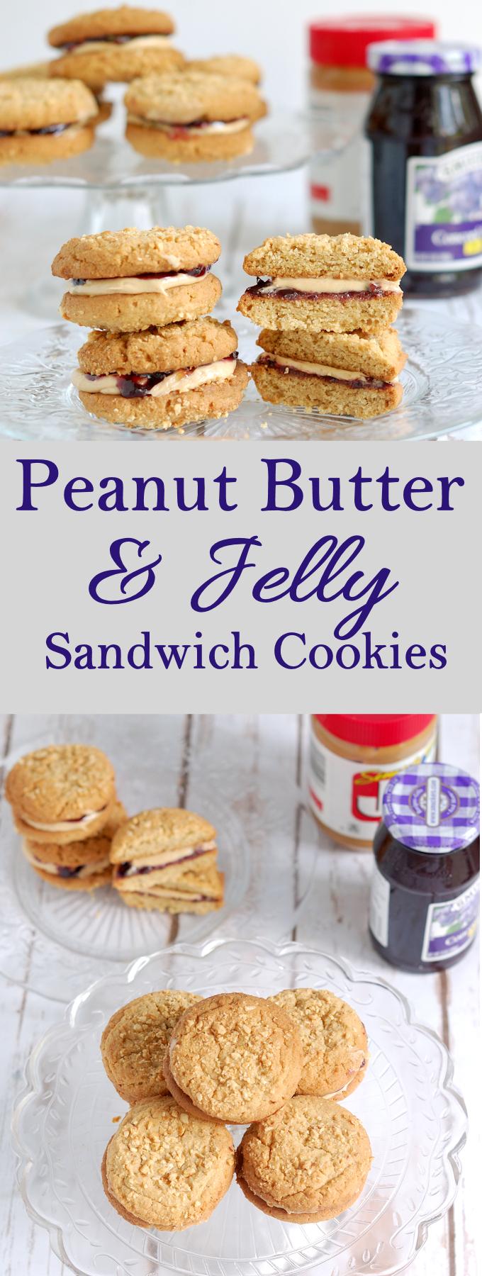 pb&j sandwich cookie
