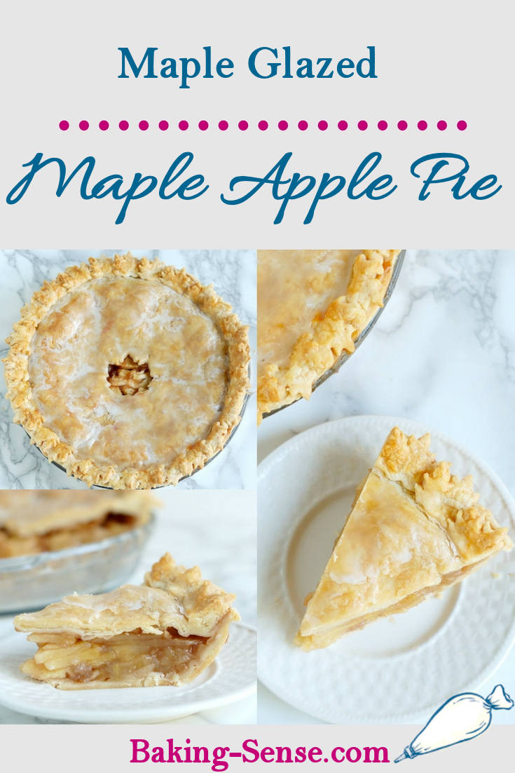 Glazed Maple Apple Pie is the quintessential fall dessert. Get a double dose of maple with your apples; in the filling and in the glaze. This easy to follow recipe also has a how-to video. The pretty maple leaf border is the perfect finish.