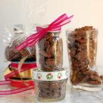 jars of Spiced Pecans