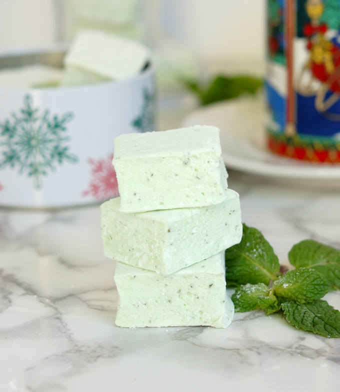 fresh mint marshmallows