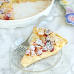 pear cranberry clafoutis