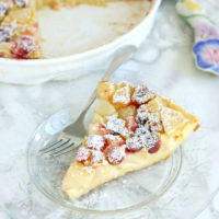 Pear & Cranberry Clafoutis