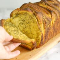 Pumpkin Pull Apart Bread with Garlic & Sage