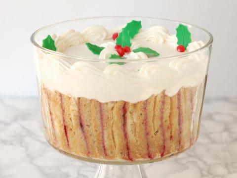 Classic sherry trifle baking sense