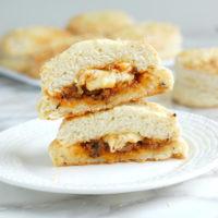 Sloppy Joe Stuffed Biscuits