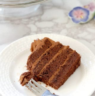 Chocolate Genoise, Chocolate Sponge Cake