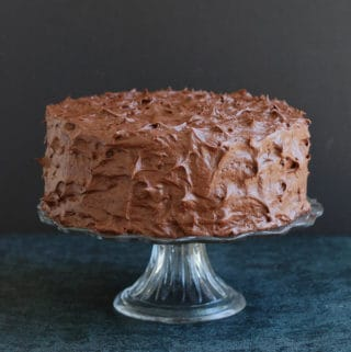 old fashioned chocolate icing
