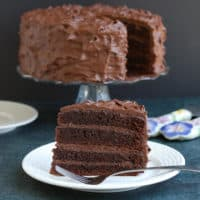 Old Fashioned Chocolate Layer Cake