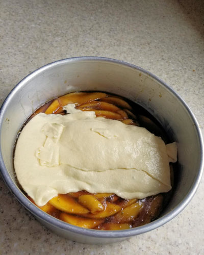 how to make mango upside down cake