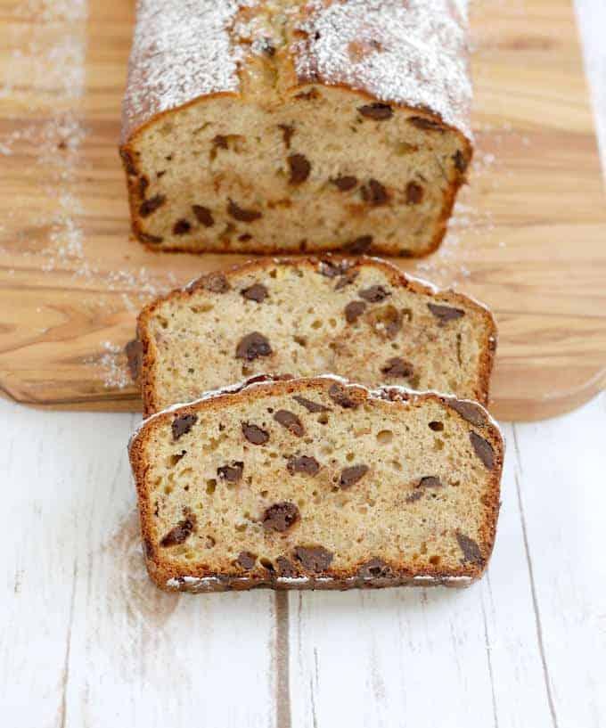 Chocolate Chunk Banana Bread - Baking Sense
