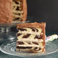 Marble Mochaccino Cake