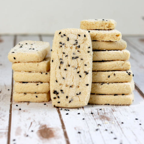 tahini shortbread cookies