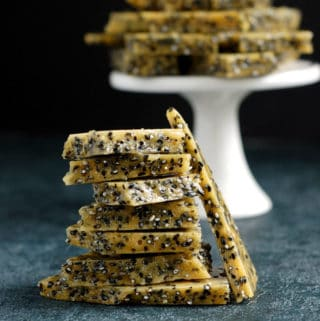 Black Sesame Seed Brittle
