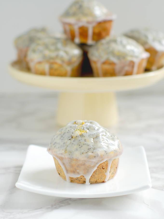 lemon poppy seed squash muffins