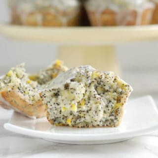 Summer Squash Lemon Poppy Seed Muffins