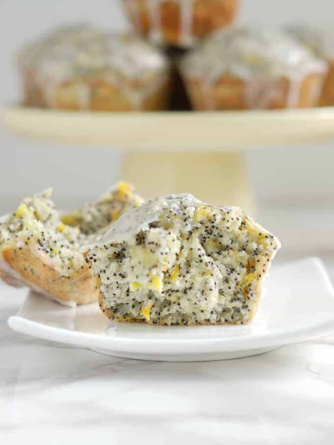 lemon poppyseed squash muffins