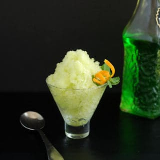 Fresh Melon Granita or Sorbet