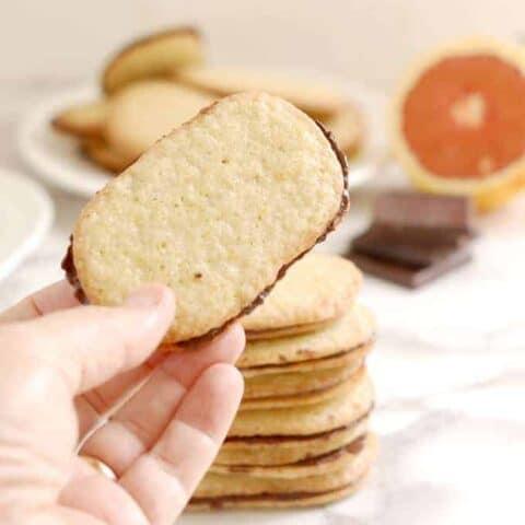 Chocolate Orange Thin cookies