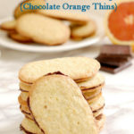 an image of homemade milano cookies for pinterest with text overlay